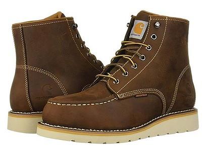 Carhartt Men's 6 Inch Waterproof Wedge Steel Toe Work Boots