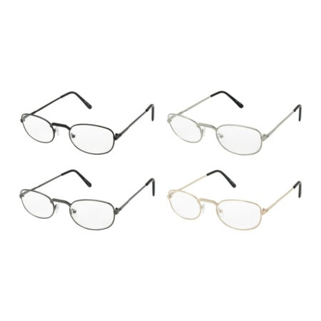 Cheap metal reading glasses
