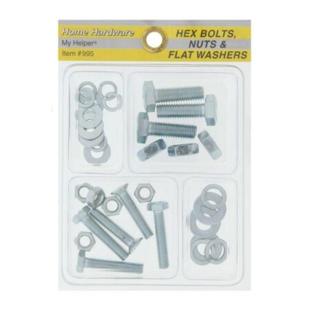 Hex Bolts, Nuts and Washer
