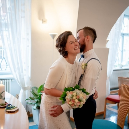 Hochzeitsreportage im Standesamt