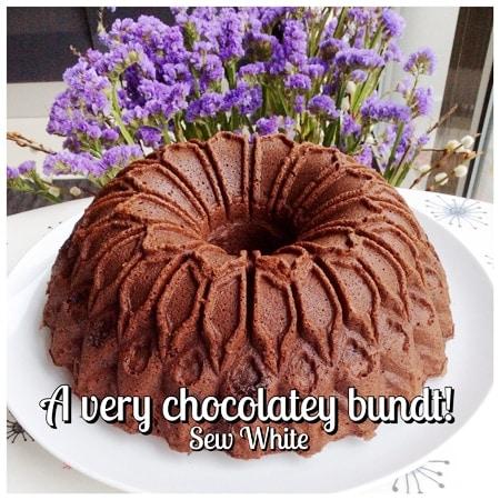 Sew White brilliant chocolate bundt 2