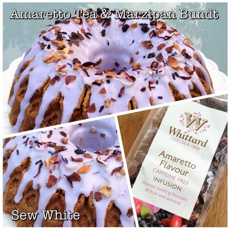 Sew White Amaretto tea and marzipan bundt recipe uk 3