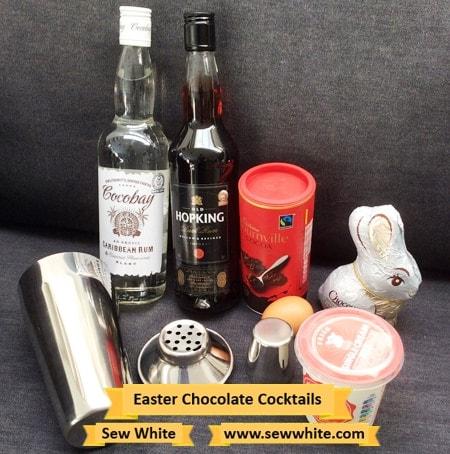 Sew White aldi cocktail drinks Easter hamper 3