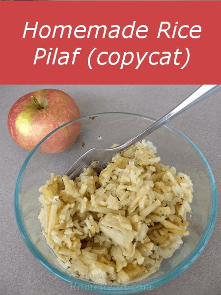Homemade Rice Pilaf (copycat)