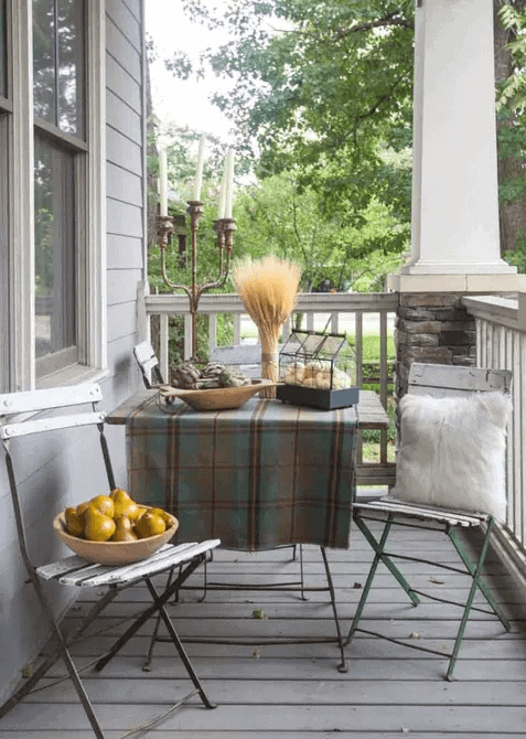COUNTRY STYLE SMALL FRONT PORCH DESIGN IDEAS