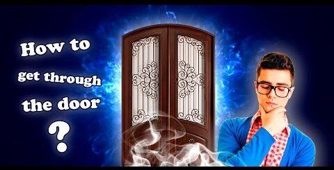 Магия и Фокусы! Проход сквозь дверь! Юмор.  Magic and Tricks ! Pass through the door ! Humor.