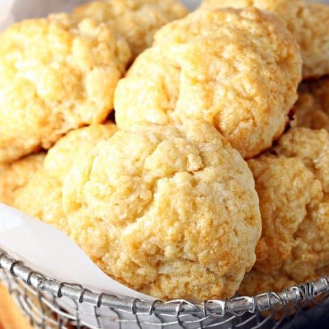 Honey Butter Biscuits (Church's Chicken Copycat)
