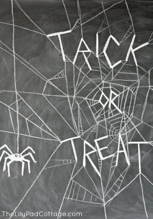 Trick or Treat Chalkboard