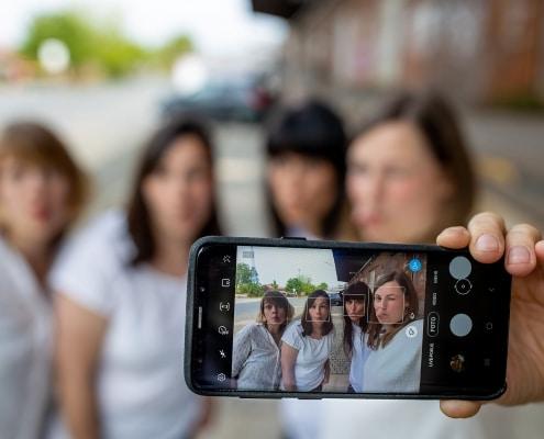 Selfie 4 beste Freundinnen