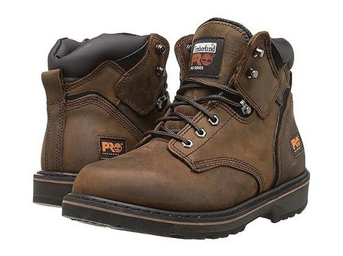 "Timberland PRO Men's Pitboss 6"" Steel-Toe Boots"