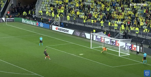 De Gea Missed Penalty