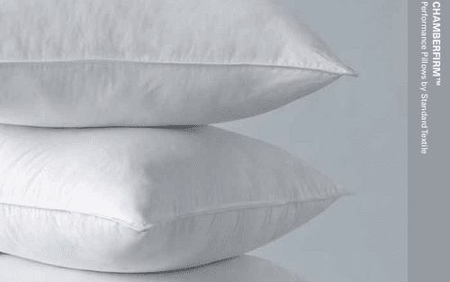 where can you find chamberfirm pillows from Standard Textile