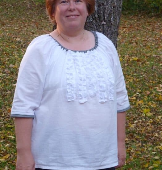 ASimpleHomestead.com - Charlotte shirt
