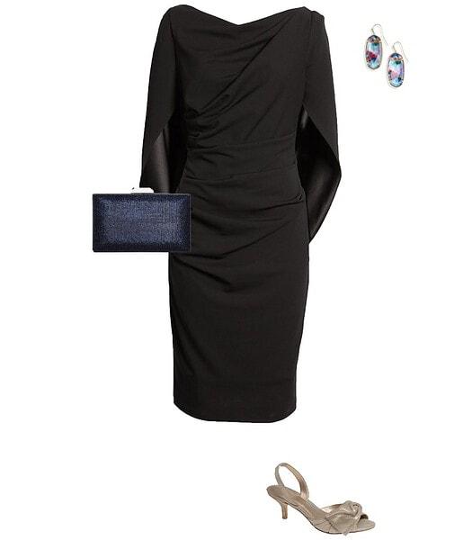 Christmas party outfit 9: A little black dress   40plusstyle.com