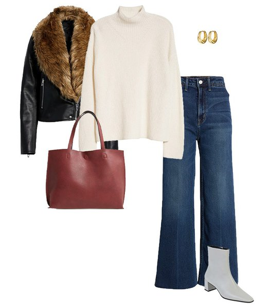 How to wear flared jeans | 40plusstyle.com