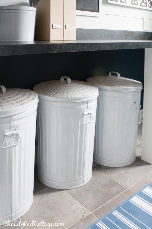 Navy Laundry Room Makeover