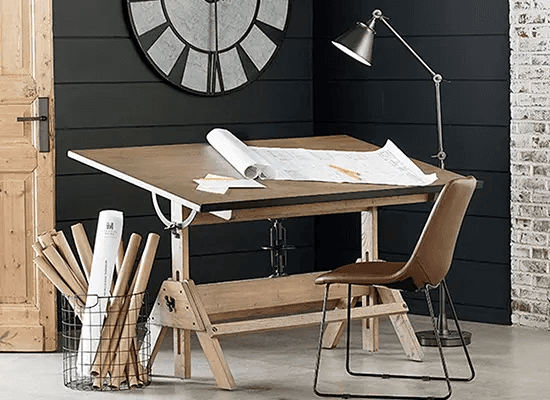 DRAWING BOARD SMALL HOME OFFICE FURNITURE SETS