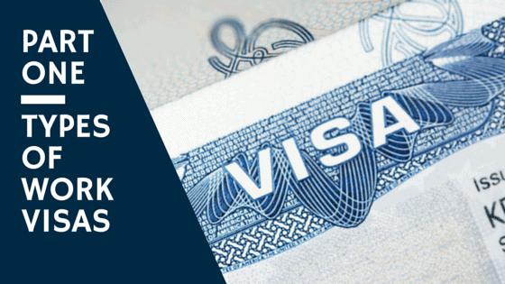Work Visas NC - Types of Work Visas