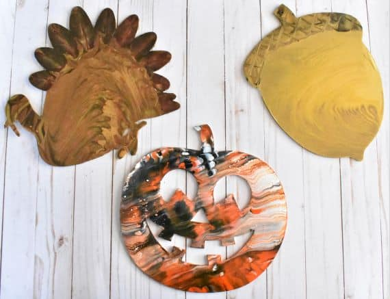 Acrylic Pouring Fall Decor Fun for All! by Homebody Hall