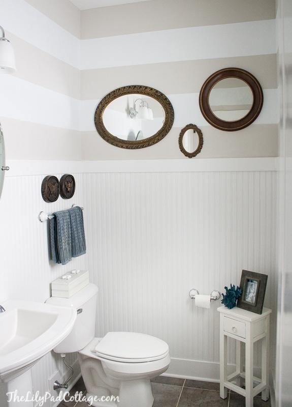 Striped Bathroom