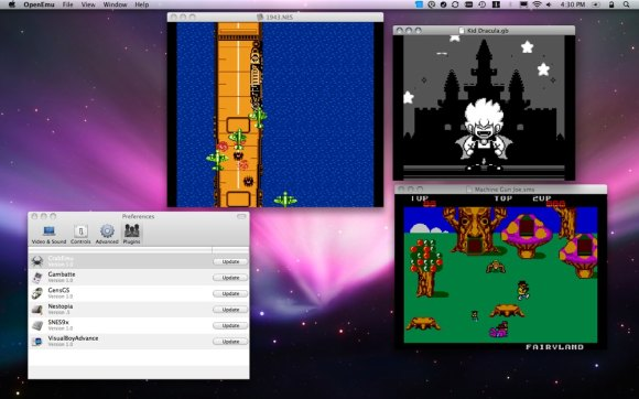 Open Emu: Free Game Emulation on Mac, Quartz Composer - Even VJ with