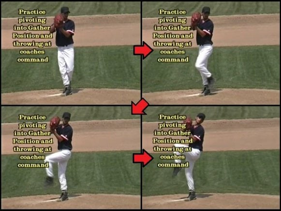 baseball tips about the gather position