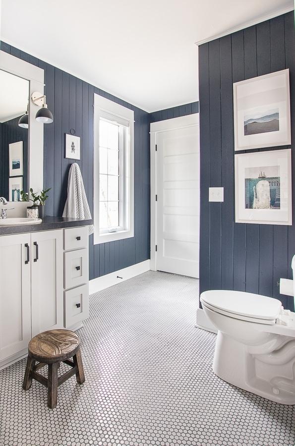 Lake House Nautical Boy Bathroom