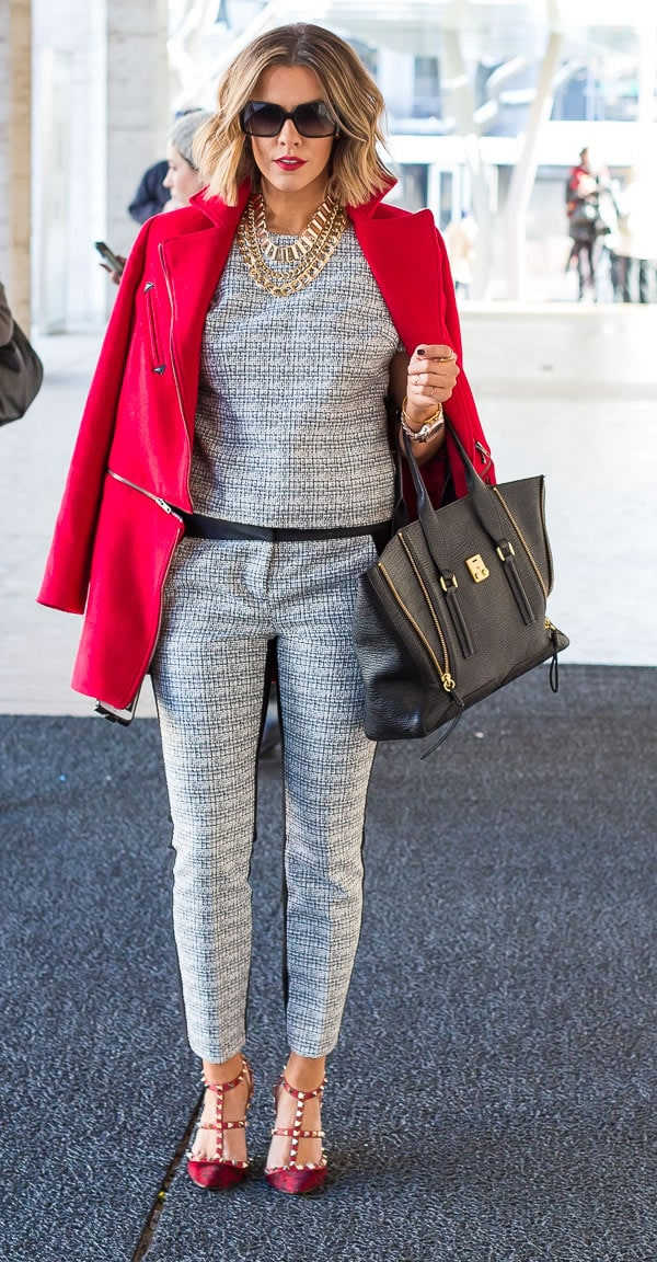 black and white suit | 40plusstyle.com