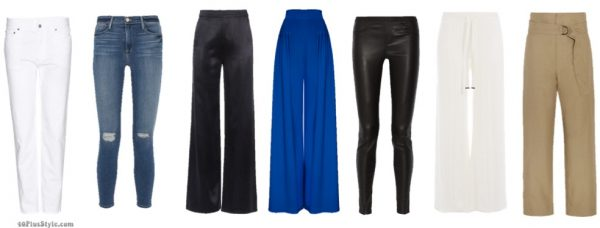 How to dress like Lauren Hutton ideas for pants: Silk wide leg pants and 70's inspired style   40plusstyle.com