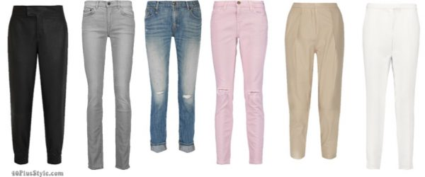 How to dress like Sarah Jessica Parker: Chic couture pants and leggings ideas   40plusstyle.com