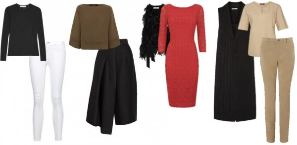 How to wear black over 40 style tip: colorblock your outfits| 40plusstyle.com