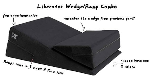 best liberator furniture - ramp / wedge combo