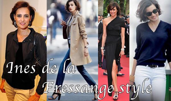 How to get parisian chic style like Ines de La Fressagne   40plusstyle.com
