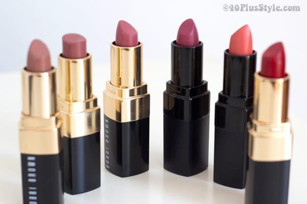 Lipstick review of Bobbi Brown