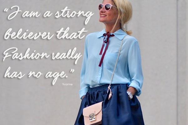 Style interview quote: Funky Forty | 40plusstyle.com