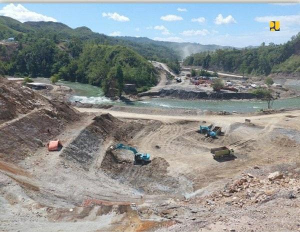 Bendungan Way Apu di Kabupaten Buru Provinsi Maluku