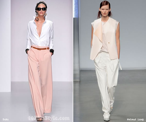 Wearing pastels with white   40PlusStyle.com