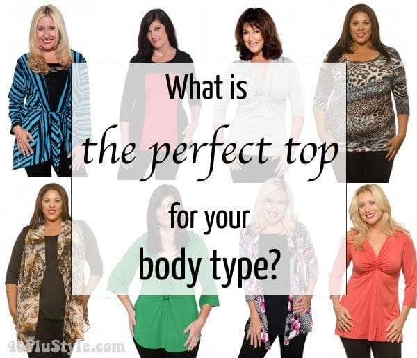 What is the best top for your body type   40plusstyle.com