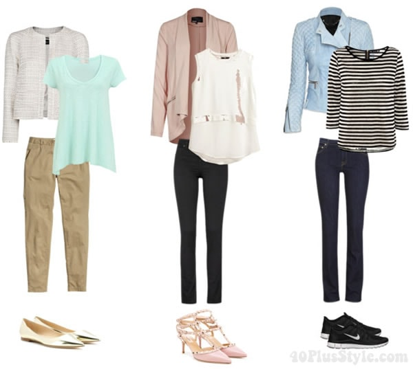 neutrals and pastels: How to wear pastels   40PlusStyle.com