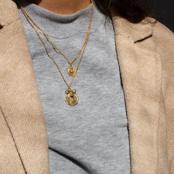 A la Coin & Bells Necklace sfeerbeeld