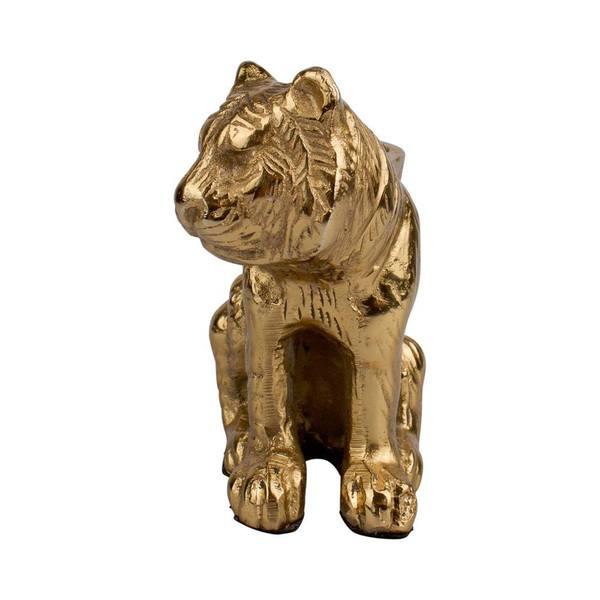 À la Big sitting Tiger candle Holder 2