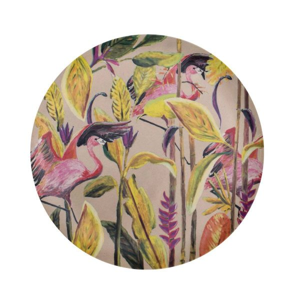 Catchii bamboe ontbijtbord flamingo wild jungle stories
