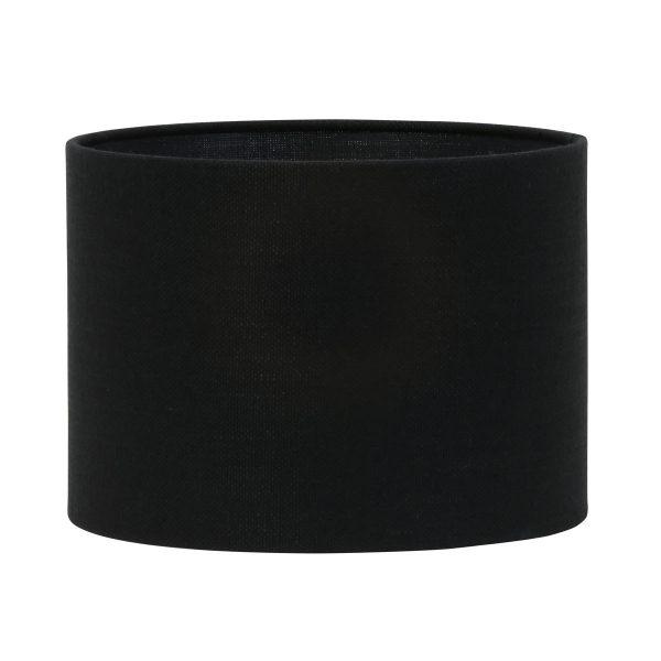 Light & Living lampenkap Livigno zwart Cilinder (30-30-21cm)