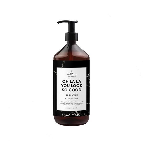 The Gift Label Body Wash - Mandarin Musk Good 1000ml