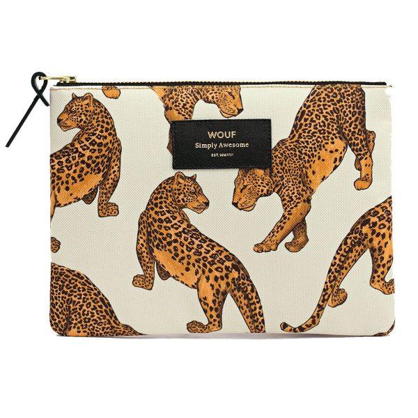 WOUF Leopard Make-up tas