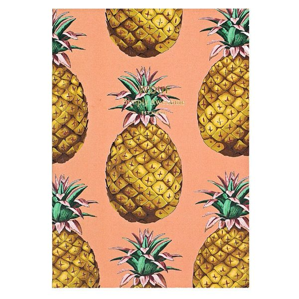WOUF Notitieboek Ananas A6