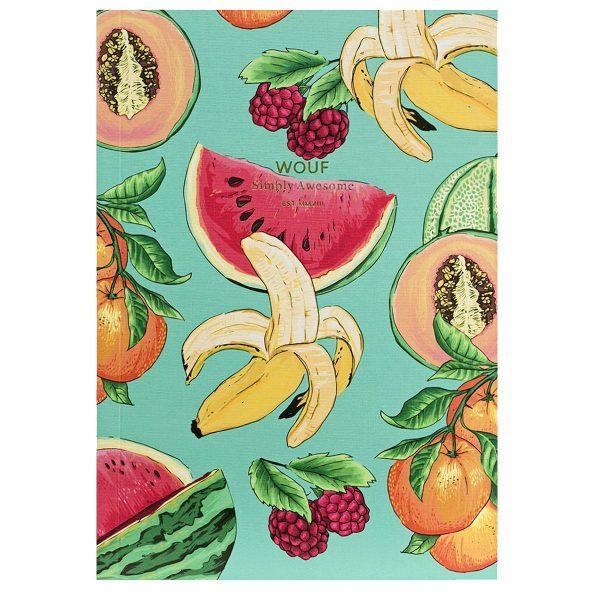 WOUF Tutti Frutti Notitieboek A6