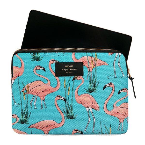 WOUF Pink Flamingos iPad hoes 2