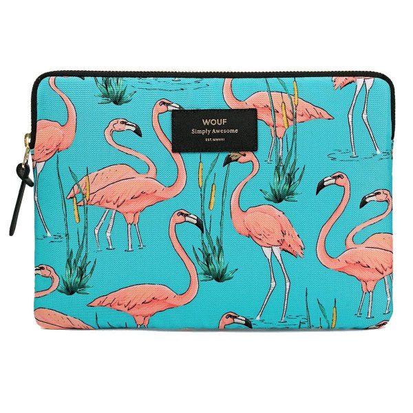 WOUF Pink Flamingos iPad hoes