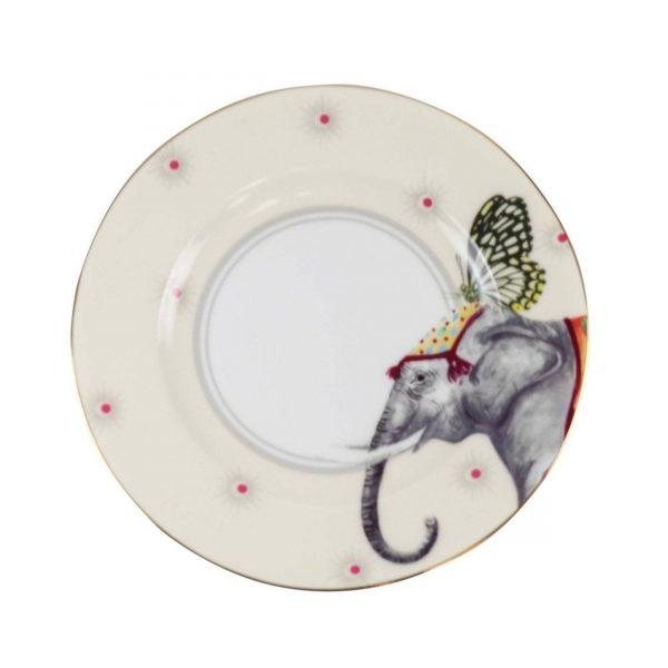 Yvonne Ellen Carnival Animal Cake Plates Olifant